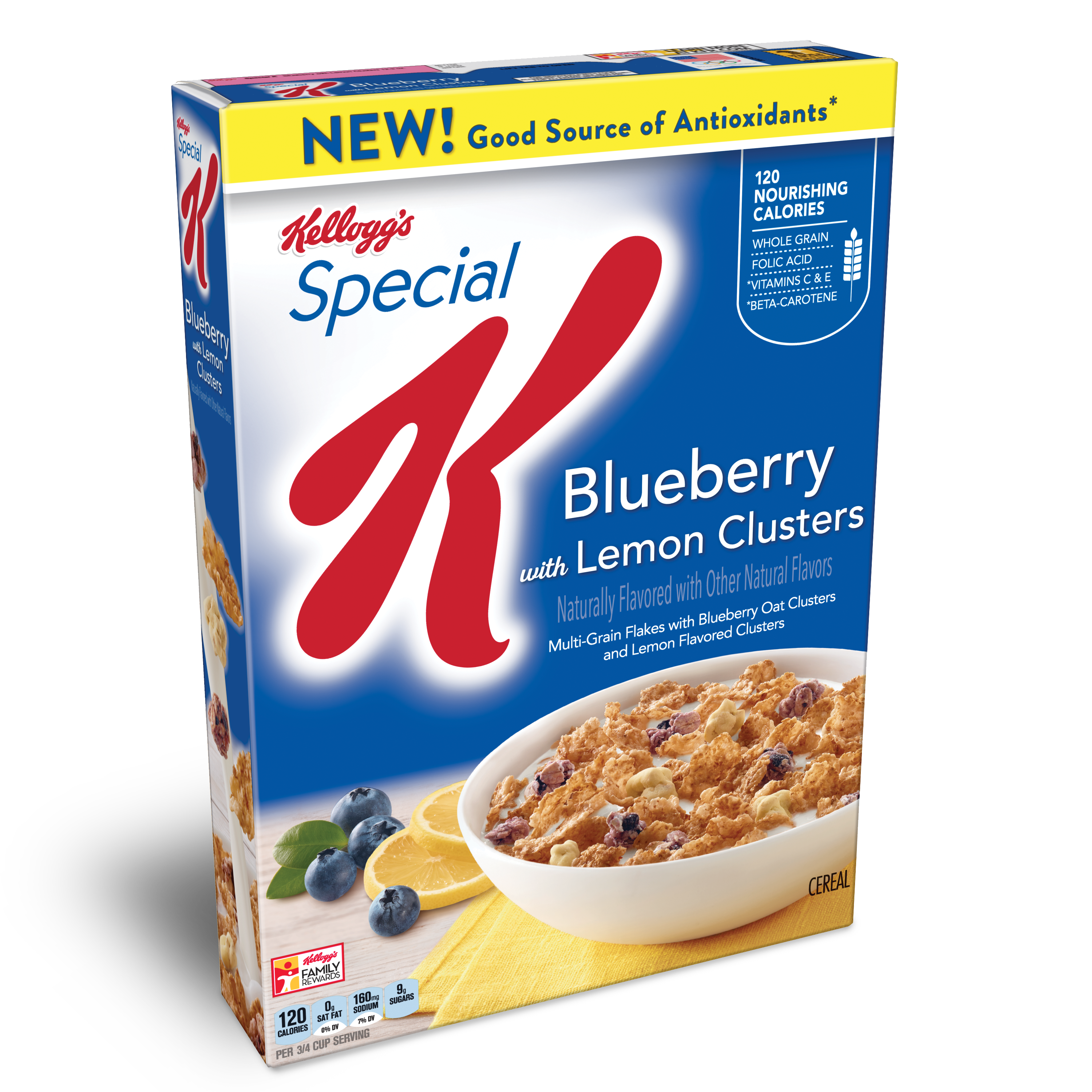 News: Blueberry Lemon Special K Is On The Way